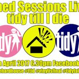 1h30mins of the tidy till i die shed sesh. #tits (tidy in the shed) go to facebook.com/shedsesh