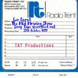 Len Groat Radio Trent October 1977