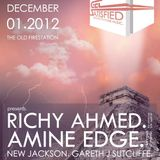 2012.12.01 - Amine Edge @ Get Satisfied - The Old Firestation, Bournemouth, UK