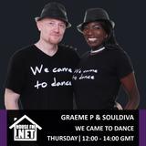 Graeme P & Soul Diva - We Came To Dance Radio Show 31 OCT 2019