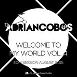 Adrian Cobos - Welcome To My World Vol. 4