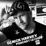 DJ Nick Harvey - Podcast December 2016