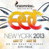 Cedric Gervais - Live @ Electric Daisy Carnival EDC New York (USA) 2013.05.17.