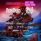 TroyBoi & heRobust & Grandtheft @ Deadbeats Party, Miami Music Week, United States 2017-03-23