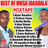 Dj Pink The Baddest - Best Of Musa Jakadala Mixtape (Pink Djz)