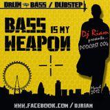 DJ RIAM - Bass is my Weapon