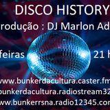 DISCO HISTORY 05.07.18 DJ MARLON ADAMI