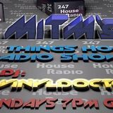 Vinyldoctor - 45 min Bouncy Piano Radio Guest Mix on M.I.T.M's(man in the mirror) 24-7 House Radio