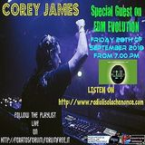 EDM EVOLUTION 29° Puntata 28-09-18 with COREY JAMES Special Guest