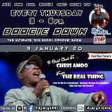 Boogie Down with Dj Migz @ Stomp Radio | A Brief Chat With ... Chris Amoo