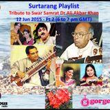 Surtarang Playlist for 12 June ' 15 - Part II