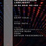 Arthur Friedenreich at Technodisiakum Label Night - N8Lounge Bonn 16.02.2018