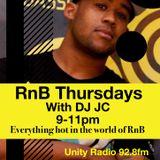 RnB Thursdays with DJ JC - 2nd hour