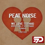 Peat Noise @ WE LOVE TECHNO, Hype Club, Stuttgart (Germany) (11.DEC.2015)