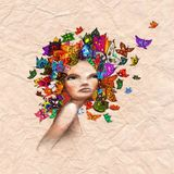 ))butterfly a head((