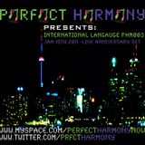 INTERNATIONAL LANGAUGE PHM003 JAN.18TH.11 LIVE ANNIVERSARY SET
