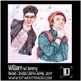 William w/ Jeremy - 28th April 2017
