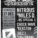 Upsessions X-mas 2013 promo mix