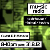 Materia - Exclusive techno mix for mu-sic radio #02