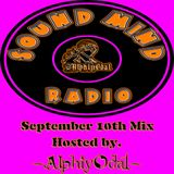 AlphiyOda1 - SoundMindRadio - September 10th Mix