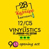 The VINYLISTICS opening act at Caldera's 28years birthday party