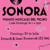 Denork and Isaac Domenek at Sonora Vermuts Musicales del Vicino Vol.12