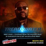 Geekswagg Interview: Treadwater w/ Chad L Coleman & Morgan Rosenblum @ NYCC2015