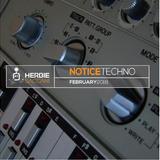 HERBIE SACCANI- NOTICE TECHNO - FEB 2018