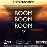 Sandar Sánchez - Boom Boom Room Podcast (Exklusiv für Stromkraftradio.com)