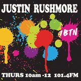"JUSTIN RUSHMORE's WEEKLY RADIO SHOW 1BTN (58) ""Worldwide eclectic selection of sunshine vibes"""
