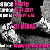 Retro Dance Party 10.14.2017 LIVE on Renegade Retro <renegaderetro.com>
