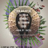 """Mix night """" localise your brain """" 21.06.2013"""