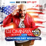 DJ OMINAYA HOT 97 MEMORIAL DAY MIX 2018