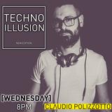 #218 CLΛUDIO POLIZZOTTO - TECHNO ILLUSION #2 @RΛVING.FM - WEDNESDΛY'S SUMMER RΛDIOSHOW