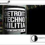 Detroit Techno Militia @ Motorcitysounds radioshow (interview + 3x sets)