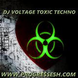 Dj Voltage Toxic Techno Live On Progressesh.com 14-6-2017 FREE DOWNLOAD