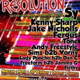 Vorny b2b Simz M.C Natz 24,5,13 @ Res Olution