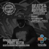 Beats & Rhymes Radio Show 09.02.16
