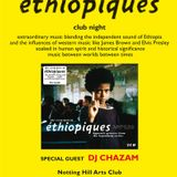 Chazam plays Ethiopiques music