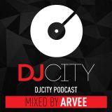 DJ City Podcast mixed by @DJARVEE (R&B & Hip Hop) #MixMondays