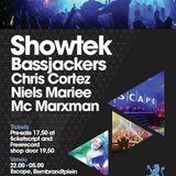 Showtek - Live @ Escape Venue Amsterdam (Netherlands) 2013.05.24.