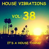 HOUSE VIBRATIONS VOL 38 IT'S A HOUSE THANG!