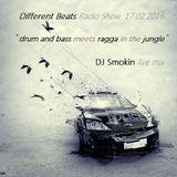 DJ Smokin live mix @ 17.02.2016 Different Beats Radio Show