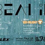 Beat it @ Flex ft. ED RUSH - Milleks b2b Raveael