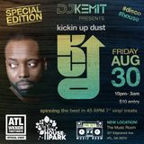 "DJ Kemit presents Kickin' Up Dust Promo Mix ""House In The Park SPECIAL EDITION"""