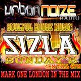 SIZLA SUNDAY'S URBAN NOIZE RADIO 27-08-2017 MARK ONE LONDON IN THE MIX SOULFUL HOUSE SOUNDS