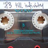 ´83 till infinity - The mixtape