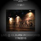 Ray Juss Live @ Kilburn Ironworks 17.06.2016