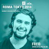 Fred w/ Moxie - RBMA Tokyo 2014