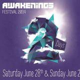 Joris Voorn live @ Awakenings Festival 2014 (Spaarnwoude, The Netherlands) - 28.06.2014